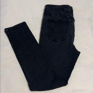 American Eagle 14 R Hi-Rise Jeans